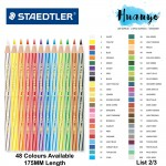 Staedtler Luna Water Colour Pencil [Per PCS, up to 48 color] (List 2/3)