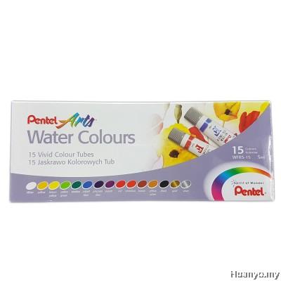 Pentel Arts Water Colour 15 Colours Set