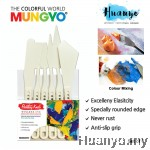 Mungyo Artist Grade Plastic Painting & Palette Knife (Set of 6)
