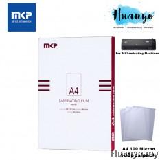 MKP Laminate/Laminating Film A4 Paper 100 micron (100pcs/pack)