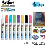Artline Erasable Fluorescent GlassBoard Marker Bullet Tip 2.0MM