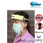 Anti Virus / Saliva Medical Safety Face Shield Visor Mask with Foam Band