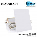 Dragon Art Artist Stretch Rectangle White Canvas (A series: A3 / A2 size)