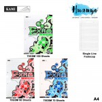 KAMI Exam Sheet Loose  Foolscap Paper A4 Pack (70gsm, 50 / 70 / 100 Sheets Pack)