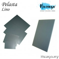 Pelasta Lino Sheet Board for Art Carving, Print Making (4MM Thickness, A4 / A3 / Square Size)