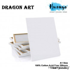 Dragon Art Artist Stretch Rectangle White Canvas (A series: A1)