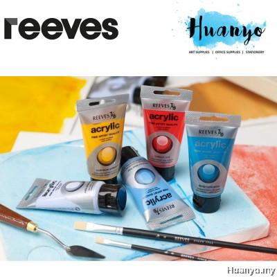 Reeves Fine Artist Quality Series Acrylic Colour Paint (75ML) [Per Tube, List 1/2]