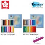Sakura Nouvel Carre Soft Pastel (Colour Set of 24, NCT-24A / NCT-24B)