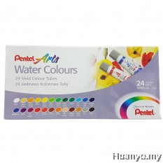 Pentel Art Water Colours 24 Colours Set