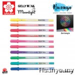 Sakura Gelly Roll Fluorescent Moonlight Gel Pen (1.0MM, Per PCS) [Suitable for Zentangle]