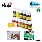 NIKKI Rainbow Non Toxic Fabric Paint Dye (75ML)