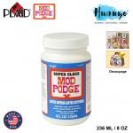 Plaid Mod Podge Super Gloss Non Toxic Waterbase Sealer, Glue & Finish 236ML / 8OZ [Super Gloss]