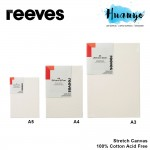 Reeves Artist Stretch Canvas Rectangle A Series Size (A5 / A4 / A3)