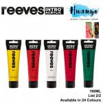 [2020 New 100ML] Reeves Intro Acrylic Colour Paint 100ML [Per Tube] (List 2/2)