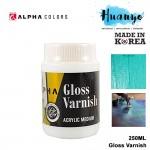 Alpha Colors Acrylic Medium Gloss Varnish 250ML