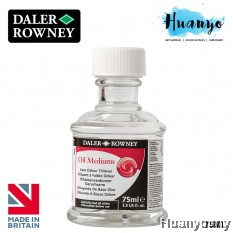 Daler Rowney Oil Colour Medium - Low Odour Thinner (75ml)