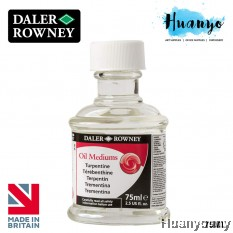Daler Rowney Oil Colour Medium - Turpentine (75ml)