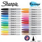 Sharpie Permanent Colour Marker Fine Tip (Per Pcs, List 1/2)