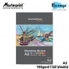 Masterprint Drawing Paper Block 165GSM  (A3 Size - 20 Sheets )