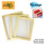Arto's Silk Screen Printing Wooden Frame Block ( A4 - 8 x 12 inch / A4 Plus - 10 x 14 inch / A3 - 12 x 16 inch)