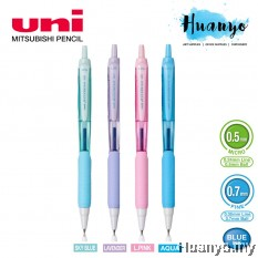 Uni Jetstream 101 Retractable Rubber Grip Roller Ball Pen 0.5mm / 0.7mm (Sweet Pastel Body Color, Blue Ink) SX-101-FL