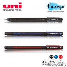 Uni JetStream 101 Roller Ball Pen 0.5MM/0.7MM/1.0MM (Black ,Blue ,Red Ink )