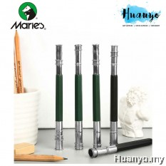 Marie's Double Head Metal Pencil Extender (For Sketching, Writing, Drawing)