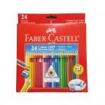 Faber-Castell Colour GRIP Watercolour Pencils 24L