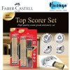 Faber-Castell Top Scorer Tri-Grip 2B Pencil Exam Grade Set - Gold Limited Edition (Set of 8)