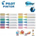 Pilot Pintor Water Based Paint Marker Pen Medium 1.4MM - Pastel & Metallic Colour [Metal, Plastic,Fabric,Wood,Paper] (Per PCS, Similar to Posca)