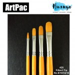 Artpac Artist Nylon Brush 428 - Filbert Tip [Muslim Friendly] (Per PCS, No.6/10/14/18)