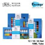 Winsor & Newton Fine Artist Water Colour Paint Set (Color Set of 12 / 18 / 24, 10ML / Tube)