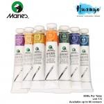 Marie's Artist Oil Colour Paint (50ml) [List 1/3, White, Yellow, Orange, Grey Shades, Per Tube]