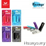 Unicorn Slim & Compact Mini Pocket Stapler & Staples Set