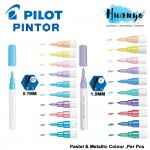 Pilot Pintor Water Based Paint Marker Pen Fine 1.0MM / Extra Fine 0.7MM (Pastel & Metallic Colour) [Metal, Plastic,Fabric,Wood,Paper] (Per PCS, Similar to Posca)