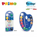 Primo Water Colour Tablet Box Set with Mixing Pallete & Brush (Colour set of A / B)
