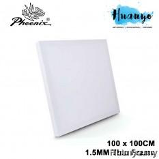 Phoenix Artist Pure Cotton Stretch Canvas (Square Size, Fine Grain, 100 X 100cm X 1.5cm) [CS3308SB]