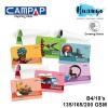 CAMPAP Premium Drawing Paper Pad Block B4 Size 18 Sheets (135GSM /165GSM/200GSM) [CA3607/CA3608/CA3609]