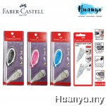 Faber-Castell Glide Refillable Correction Tape Set (Body & Refill / Refill Value Set)