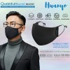 Quantum Ion Anti Viral Virus 3 Layer Washable Reusable Fabric Face Mask With Adjustable Earloop (Wash Up to 100 Times | Kills 99.99% Virus in 1 Min)