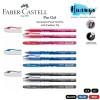 Faber-Castell Pro Gel Document Proof Retractable Rubber Grip Gel Pen (Black/Blue /Red, 0.5mm/0.7MM, Ink Refillable)[Per Pcs]