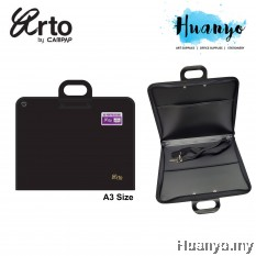 Campap Arto Drawing Drafting Portfolio Zipper Bag A3 size With Shoulder Strap