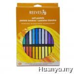 Reeves Soft Pastel 36 Colours Set