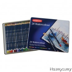 Derwent Watercolour Pencil (Tin of 24)