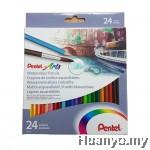 Pentel Arts Watercolour Pencils (Set of 24)