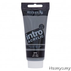 Reeves Intro Acrylic Colour 120ML (Grey)