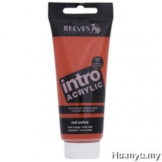Reeves Acrylic Colour 120ML (Red Ochre)