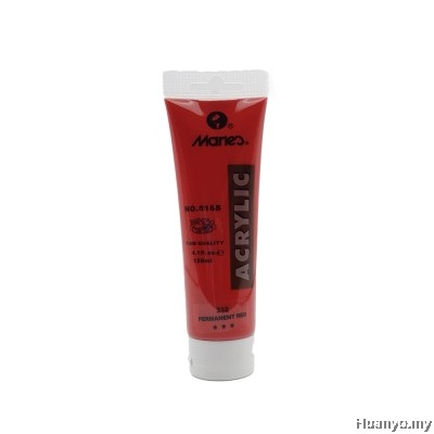 Marie's Acrylic Colour 120ML No.332 (Permenant Red)