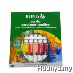 Reeves Acrylic Colour Paint Set of 18