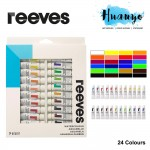Reeves Water Colour Paint (Set of 24, 10ML Tube)